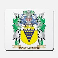 Moneymaker Coat of Arms - Family Crest Mousepad
