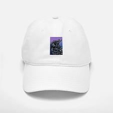 Purple Crow Raven Hat