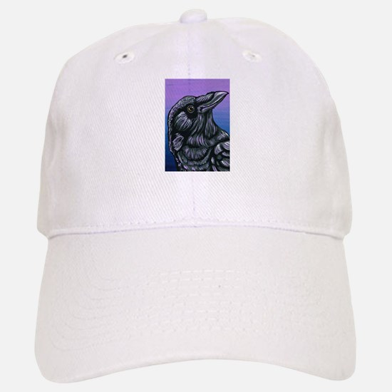 Purple Crow Raven Hat