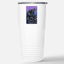 Purple Crow Raven Travel Mug
