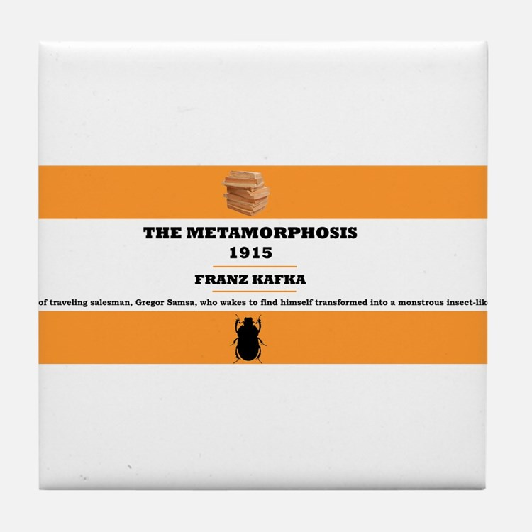 Metamorphosis Tile Coaster