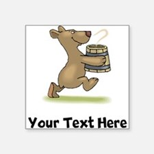 Bear With Soup (Custom) Sticker