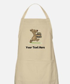 Bear With Soup (Custom) Apron