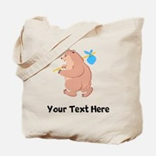 Bear Hitchhiking (Custom) Tote Bag