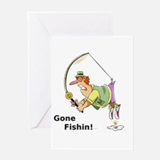Gone Fishin! Greeting Cards