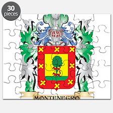 Montenegro Coat of Arms - Family Crest Puzzle