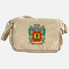 Montenegro Coat of Arms - Family Cre Messenger Bag