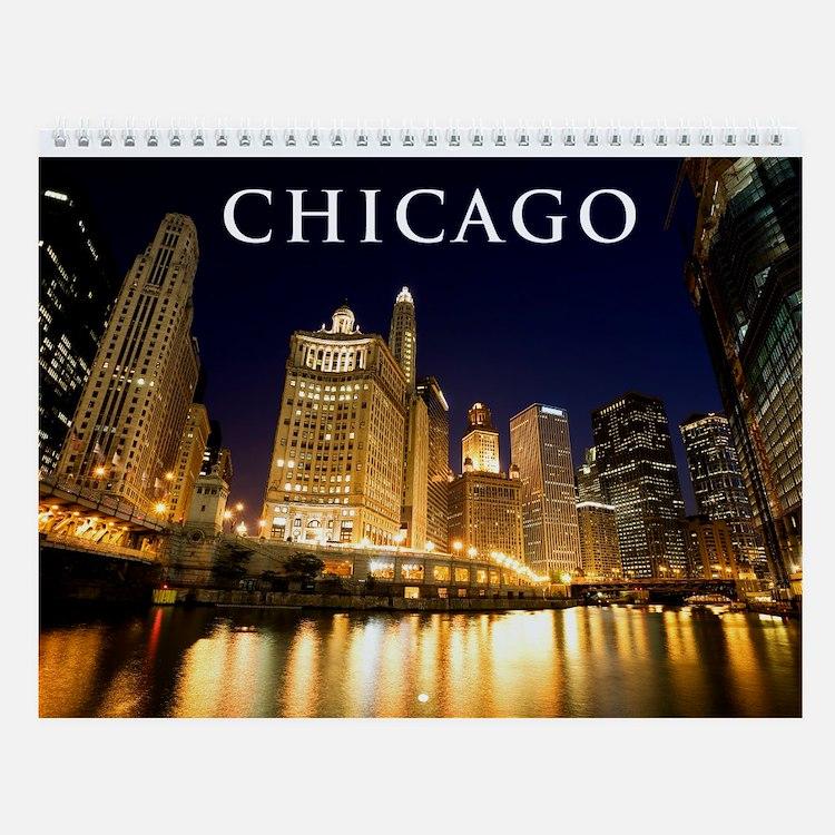 Downtown Chicago Wall Calendar