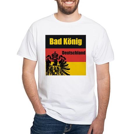 Bad König White T-Shirt
