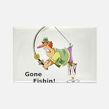 Gone Fishin! Magnets