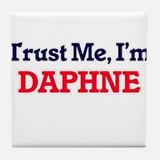 Trust Me, I'm Daphne Tile Coaster