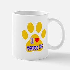 I Love Yorkipoo Dog Mug