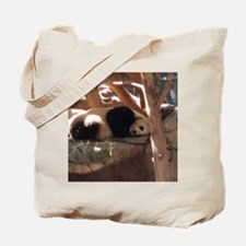 Sleeping Panda Tote Bag