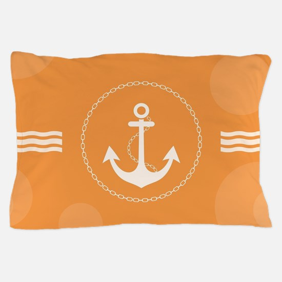 Beautiful Modern Nautical Design Pillow Case