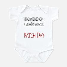 Patch Day Infant Bodysuit