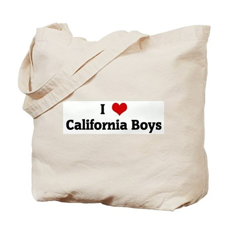 I Love California Boys Tote Bag