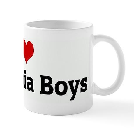 I Love California Boys Mug