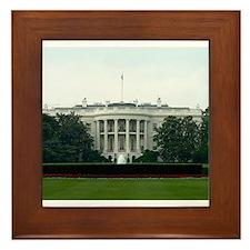 Cute Politics government Framed Tile