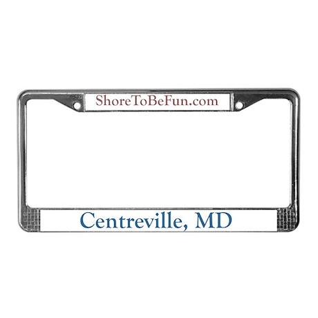 Centreville MD License Plate Frame