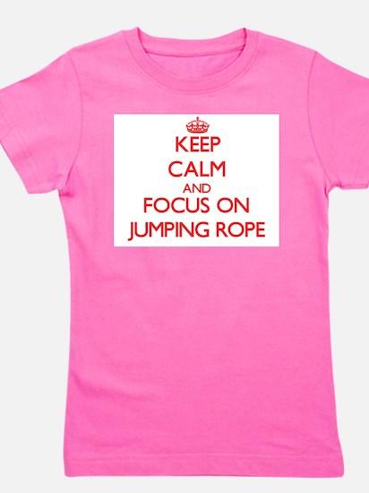 Cute Jump Girl's Tee