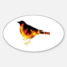 Berning Bird Decal