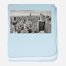 Manhattan baby blanket