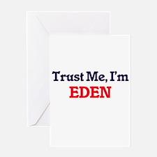 Trust Me, I'm Eden Greeting Cards