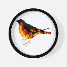 Berning Bird Wall Clock