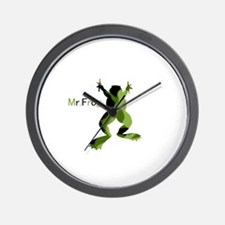 Mr.Frog Wall Clock