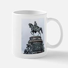 George Washington riding his horse - monument Mugs