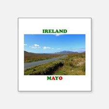 "Achill Island Road Square Sticker 3"" x 3"""