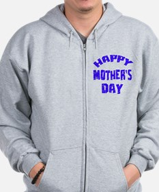 Happy Mother's Day Designs Zip Hoodie