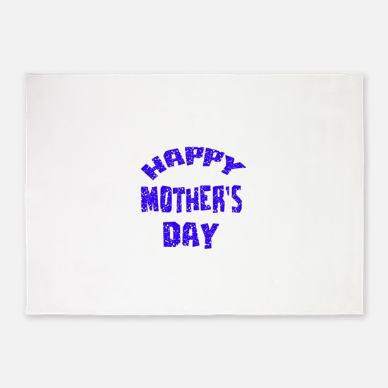 Happy Mother's Day Designs 5'x7'Area Rug