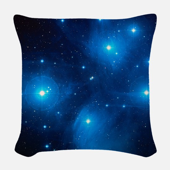 Pleiades Woven Throw Pillow