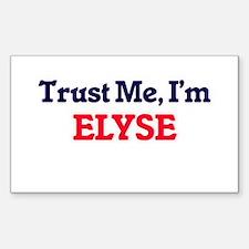 Trust Me, I'm Elyse Decal