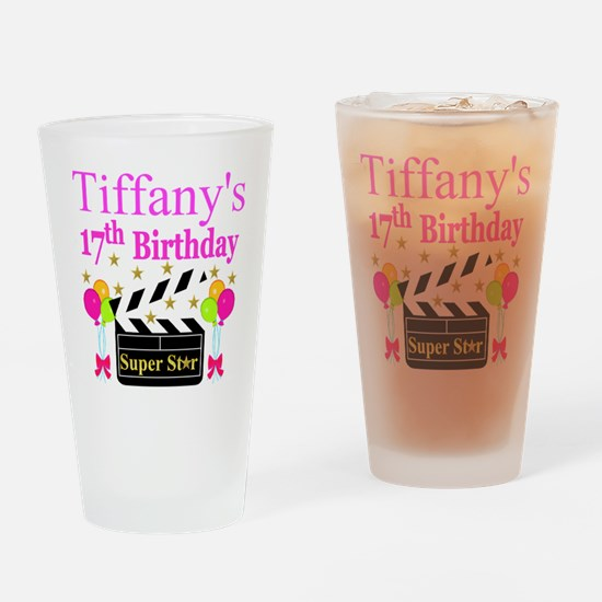 PERSONALIZED 17TH Drinking Glass