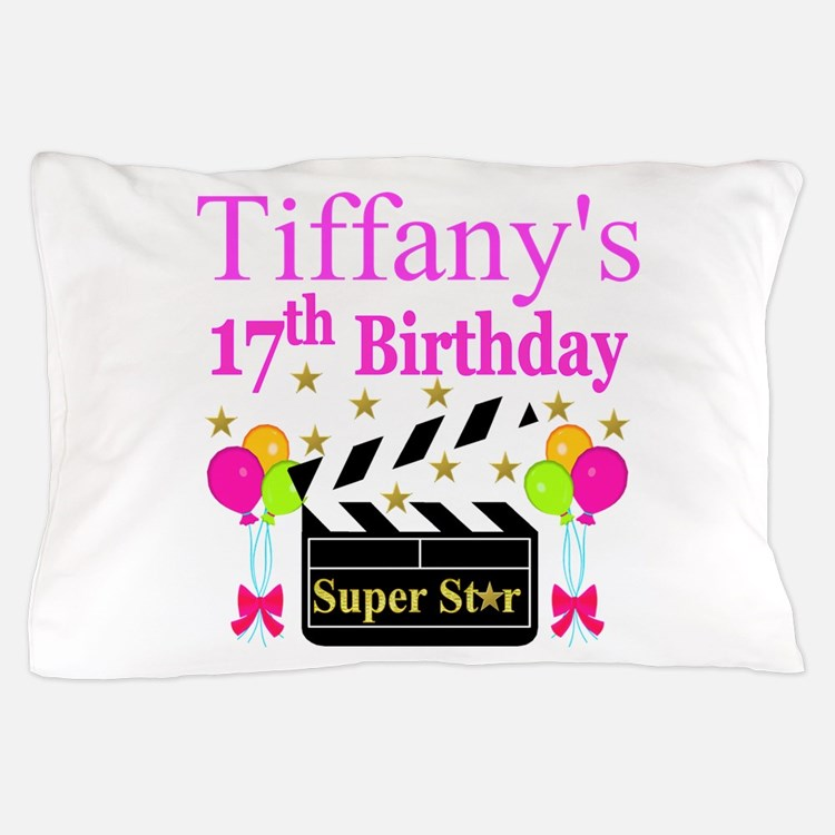 PERSONALIZED 17TH Pillow Case