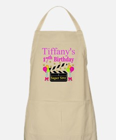 PERSONALIZED 17TH Apron