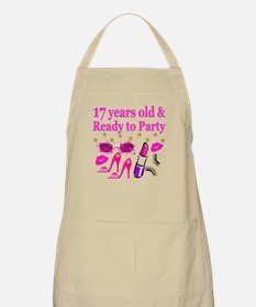 17TH BIRTHDAY Apron