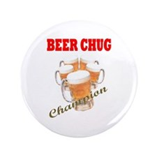 "BEER CHUG Champion 3.5"" Button (100 pack)"
