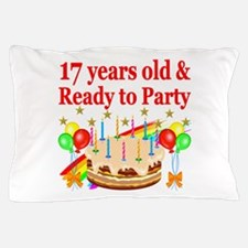 17TH BIRTHDAY Pillow Case
