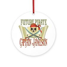 Captain Jameson Ornament (Round)