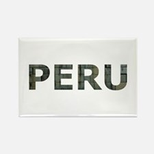 INCA STONEWORK PERU Rectangle Magnet