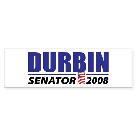 Dick Durbin Bumper Sticker