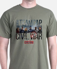 Hashtag Team Cap Group - Captain Amer T-Shirt