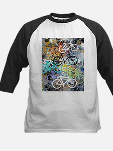 Bicycles Art Baseball Jersey