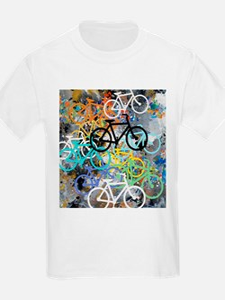 Bicycles Art T-Shirt