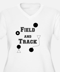 Field and Track Thrower Plus Size T-Shirt