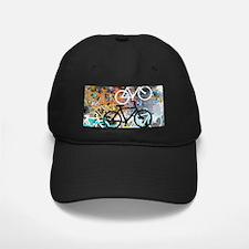 Bicycles Art Baseball Hat