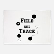 Field And Track Thrower 5'x7'Area Rug